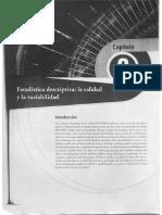 Estadistica Descriptiva La Calidad y La Variabilidad