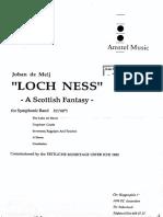 Loch Ness score concert Band