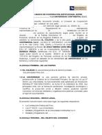 Convenio Modelo 2015