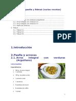 Arroces Paella y Fideuá (Varias Recetas)