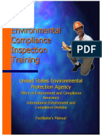 Environmental Compliance Inspectors Training
