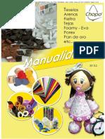 Catalogo Manualidades Foamy Eva Porex Herramientas Libros Teselas Arenas Etc 1013