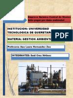 Empresa Qumica Central de Mexico Debe Pagar Por Daño Ambiental (Scm)