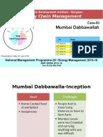 Mumbai's Dabbawala SCM