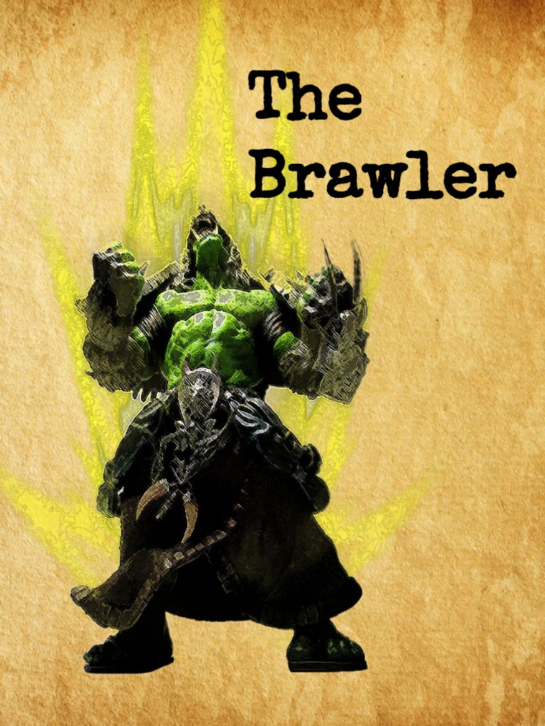 The Brawler - 5e Dungeons and Dragons Class | Role Playing