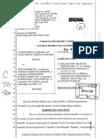 Laura Siegel Larson et al. v. Time Warner, Inc. et al., Case No. CV 04-8776 (USDC CDCA 2004), Plaintiff's complaint