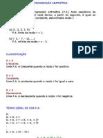 Matemática - Exercícios Resolvidos - Sequências PA PG