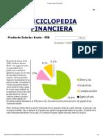 Producto Interior Bruto PIB