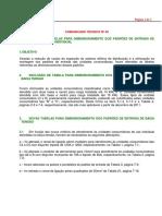 COMUNICADO TECNICO 5 Alteraçoes Das Tabelas Da ND 5.1