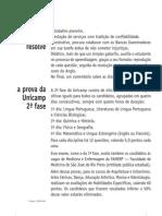 Matemática - Prova Resolvida - Anglo Resolve UNICAMP 2005