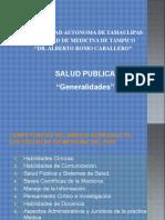Generalidades de Salud Pública