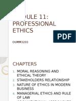 Professional Ethics 1