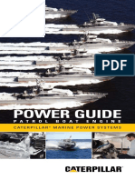 Cat Patrol Boat Power Guide