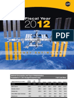 NASA Budget Estimate2012