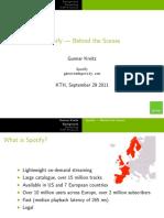 Spotify presentations
