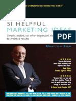 51 Helpful Marketing Ide 51 Helpful Marketing Ideas - Drayton Birdas - Drayton Bird