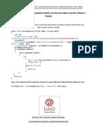 Como Obtener El Folio Siguiente Desde Una Base de Datos Usando CSharp y MySql