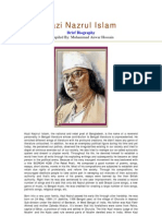 Biography of Kazi Nazrul Islam