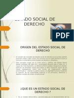 Diapositivas Estado Social de Derecho