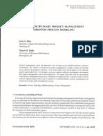 ProcessModeling&ProjectManagement
