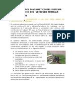 Informe Del Diagnostico Del Sistema Electrcio Del Vehiculo Tubular Ok