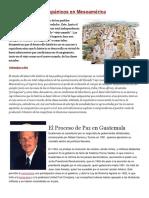 Los Pueblos Prehispánicos en Mesoamérica
