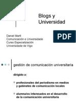 blogs  y universidad