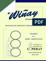 Revista Wiñay (2da Época) 2016-I