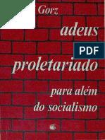 Adeus Ao Proletariado