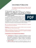 Organizaciones Publicas en Venezuela