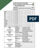 Calendarios académico 2016