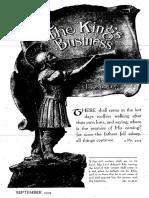 The King's Business - Volume 10, Issue 9 - September 1919