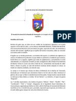 El Escudo de Armas de La Armada de Venezuela