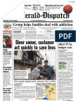 Front Page — The Herald-Dispatch, Dec. 30, 2009