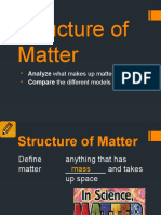 structure of matter power point