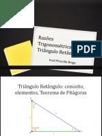 Razões Trigonométricas No Triângulo Retângulo [Reparado]