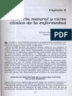 Historia natural y curso clinico de la enfermedad