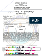 FUN RUN Registration Form PDF