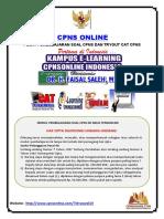 Soal Tes CPNS Luar Negeri Disertai Pembahasan