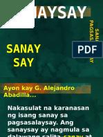 Kay Zeehandelaar (Sanaysay) Pangugnay