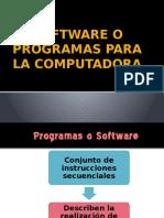 Software o Programas Para La Computadora