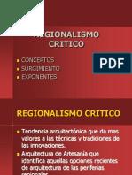 Regionalismo Critico