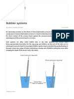 Bubbler Systems