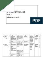 English Language Sow f1 2016