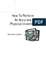 how to perform an accurate physical inventory fac 10-2005