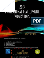 2015 ISD Workshops