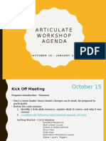 Articulate Workshop