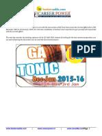Gk Tonic 2016