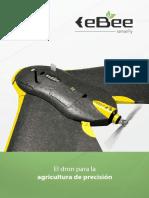 eBee dron ultra ligero