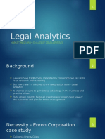 legal analytics research yeswanth